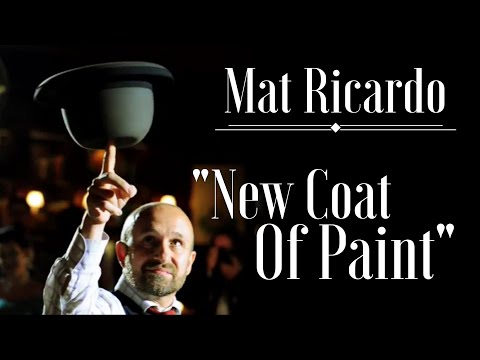 """New Coat Of Paint"" - Mat Ricardo's hat and cane juggling act, live at Scarfes Bar, London"