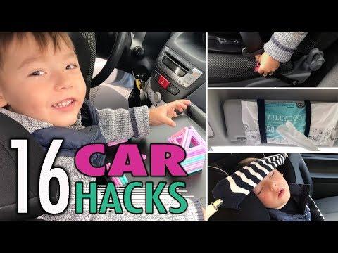 16 Hacks und Tipps für dein Auto | Sicher und organisiert unterwegs | Car Hacks | mamiblock