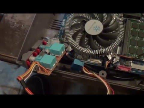HTPC inside NES case build (part 5)