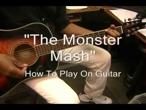 Learn How to Play Monster Mash on Guitar * Bobby Pickett & Cryptkickers
