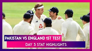 PAK vs ENG 1st Test Day 3 Stat Highlights: Bowlers Keep Pakistan Lead In Check With Regular Wickets - Download this Video in MP3, M4A, WEBM, MP4, 3GP