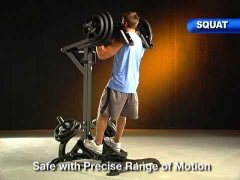 Powertec Leverage Squat/Calf Machine @ www.FitnessXpress.com.au