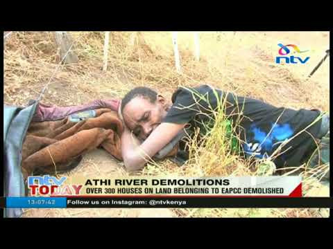 Over 300 houses on land belonging to EAPCC demolished in Athi River