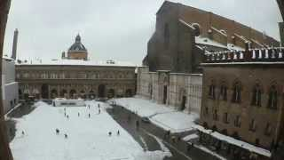 preview picture of video 'Neve a Bologna 2015'