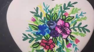 Día de las madres | regalo para mamá | cómo decorar para el día de las madres | pintar en cerámica