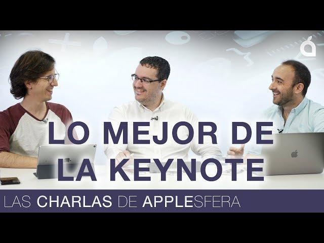 Análisis de lo mejor de la Keynote WWDC 2018 | Las Charlas de Applesfera