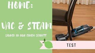 Home: Vac & Steam (Sauber in nur einem Schritt) -Test