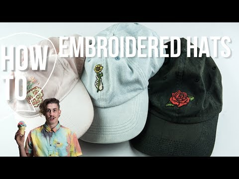 Diy Embroidered Hats Mp3