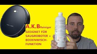 A.K.B Glanzreiniger für Wischroboter geeignet | 1L Konzentrat - 1ml pro Behälter | Tesvor | Zigma
