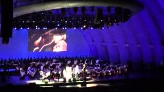 Love me  tender - Andrea Bocelli- Hollywood Bowl