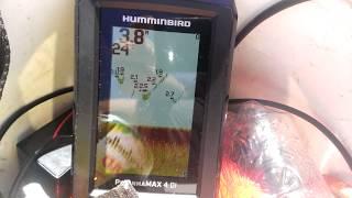 Эхолот humminbird piranhamax 4 di.