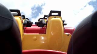 preview picture of video 'Cobra Achtbaan Walibi Wavre'