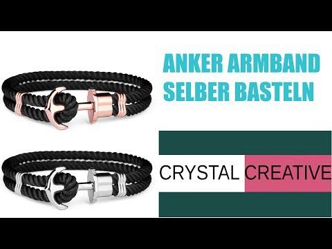 DIY Edelstahl Anker Armband  - stainless steel anchor bracelet -  #hookedforlife
