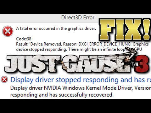 ERROR Code 38 I FIXED IT!!! :: Just Cause 3 Tech Support