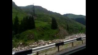 preview picture of video 'Алма - Ата Поездка в горы на 2700 метров Большое Алма-Атинское озеро.'
