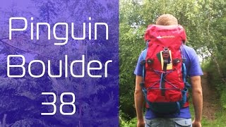 Pinguin Boulder 38 / Red - відео 1