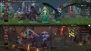 [EN] PSG.LGD vs Chaos - The International 2019 Group Stage