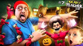 Honey, I SHRUNK the Scary Teacher!!  Miss T Competition Special Chapter! (FGTeeV)