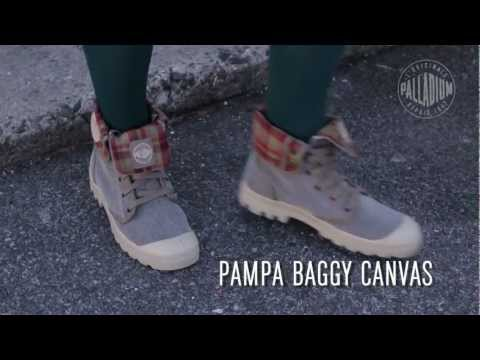 Palladium Boots - Canvas Product Video