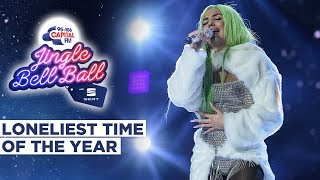 Mabel -  Loneliest Time Of The Year (Live at Capital's Jingle Bell Ball 2019) | Capital
