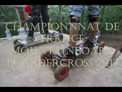 championnat de france mountainboard  boardercross 2017