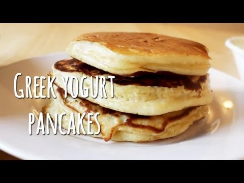 Video Greek Yogurt Pancakes: Recipe and Tips!