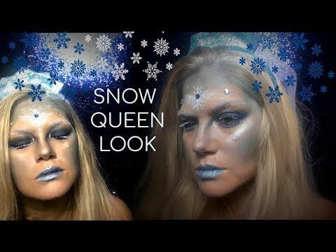 Snow Queen Halloween Look | Collab with Sanaya's World