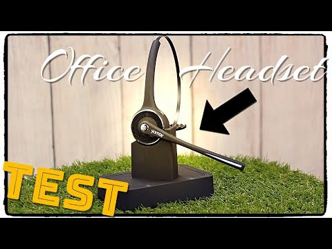 🔴OFFICE HEADSET IM TEST ( YAMAY® Bluetooth Headset mit Ladestation )