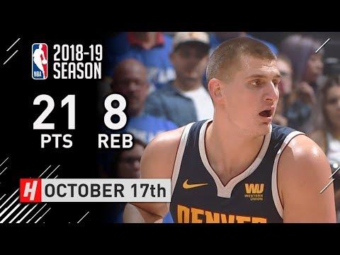 NBA: Jokić na početku sezone bolji od Marjanovića (VIDEO)