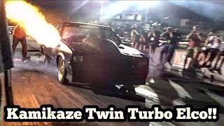 Kamikaze Chris is back with a new twin turbo setup at Armageddon testing