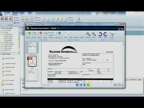 Visualizza, stampa, invio per email documenti