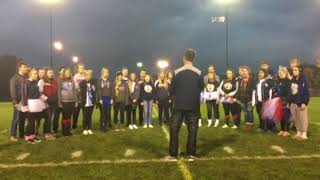 In Honor of Veteran's Day:  Watch our SFHS Madrigal Singers at Homecoming 2017