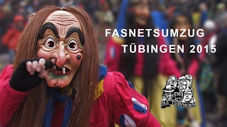 preview picture of video 'Fasnet-Umzug Tübingen 2015'