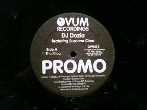 DJ Dozia ft  Susanna Claro The Ritual Ovum Recordings..