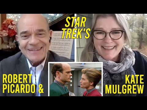 A Conversation: Star Trek's Robert Picardo and Kate Mulgrew