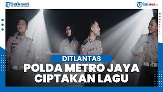 Edukasi Masyarakat, Ditlantas Polda Metro Jaya Ciptakan Lagu Ga Mudik Dulu