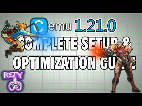 CEMU 1,21,0 Complete Setup & Optimization Guide