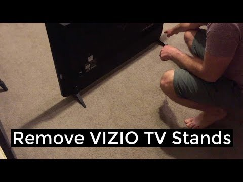 Vizio TV- Remove/Replace Stands Mp3