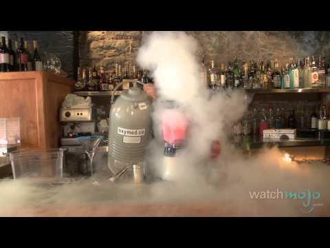 Molecular Cuisine: Cosmopolitan Drink Recipe