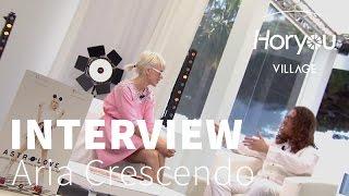 Interview d'Aria Crescendo - Horyou Village @ Cannes Festival 2015