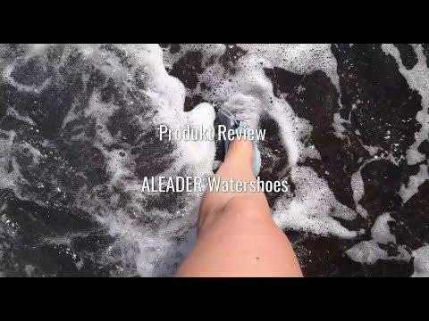 Review Aleader Watershoes - Erfahrung Aleader Wasserschuhe - German sound only