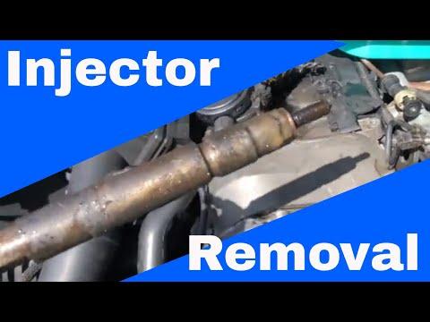 DIY Jeep Grand Cherokee diesel injector removal - смотреть онлайн на