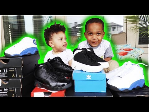 THE KIDS SHOE COLLECTION | THE PRINCE FAMILY