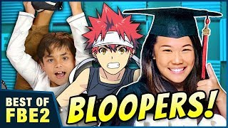 REACT Graduations, BLOOPERS & Try Not to Eat Challenge! - Video Youtube