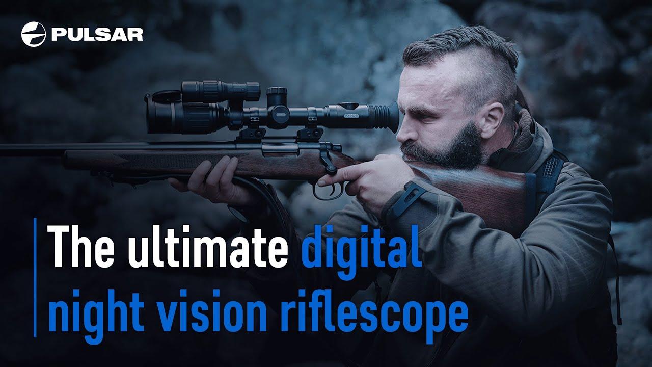 DIGEX: Digital Night Vision Riflescope from Pulsar