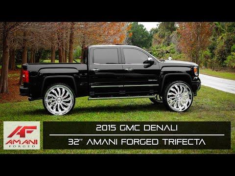 Amani Forged Wheels | 2015 GMC Denali on Amani Forged Trifecta