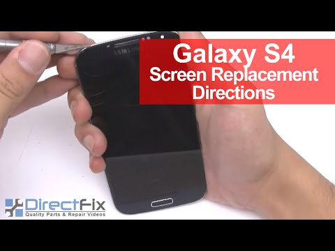 Galaxy S4 Screen Replacement Repair in 7 Minutes