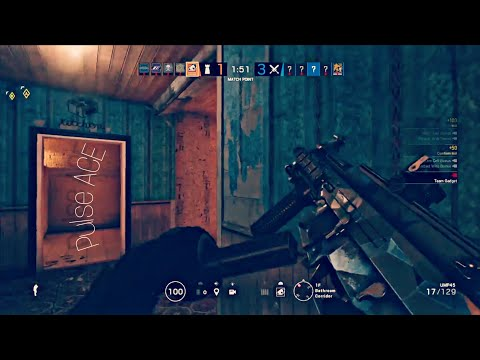 Rainbow Six Siege Diamond/Plat Insane pulse ACE and cool wallbang