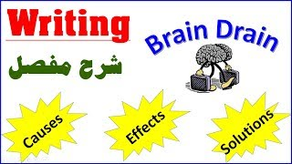 Writing: Causes, Effects and Solutions of Brain Drain English With Simo