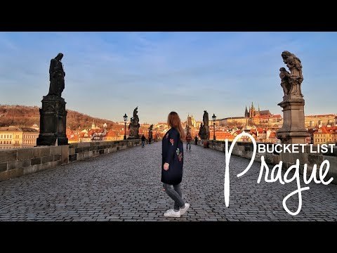 Prague Bucket List: 15 things to visit and experience